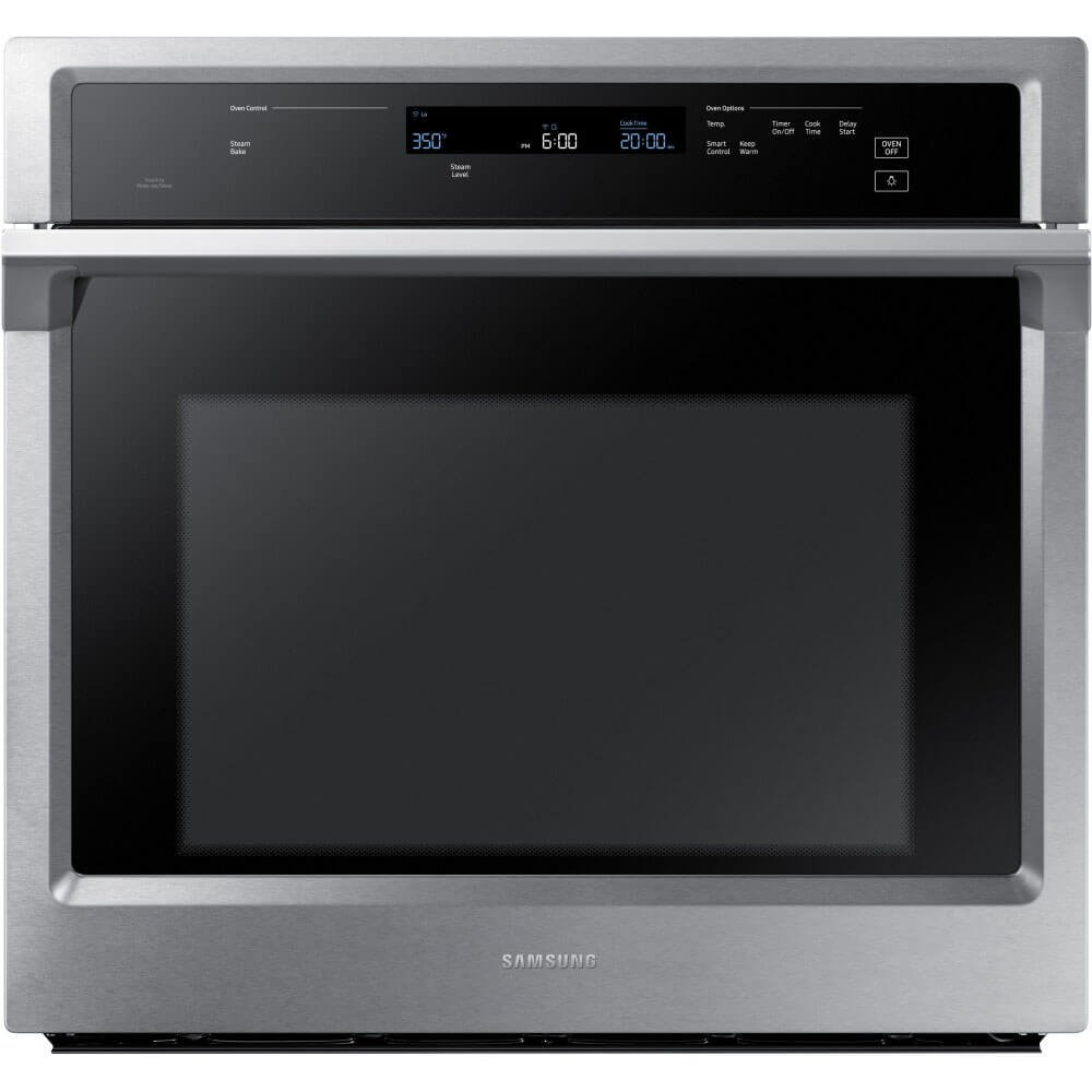 """Samsung Appliance NV51K6650SS 30"""" 5.1 cu. ft. Total Capacity Electric Single Wall Oven with Top Broiler, in Stainless Steel"""