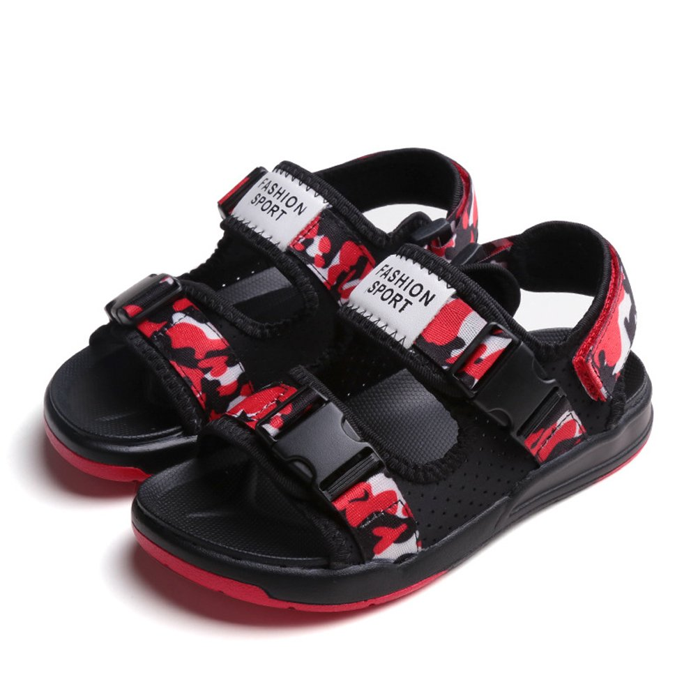 Tuoup Leather Sandles Hiking Athletic Sandals for Boys
