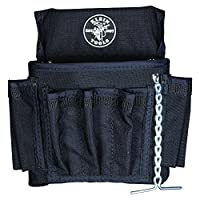 PowerLine Series 18 Pocket Electrician Tool Pouch Klein Tools 5719