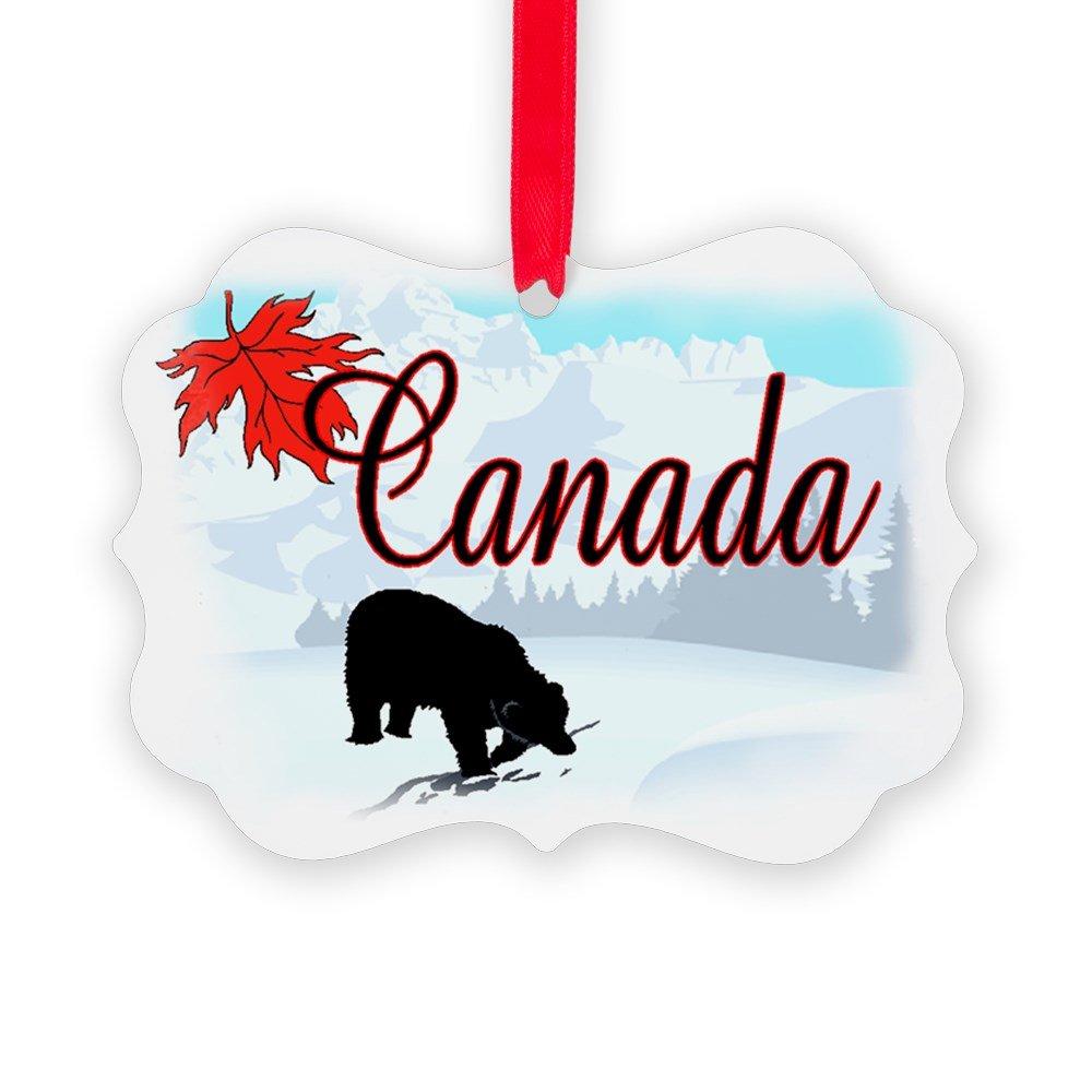 CafePress - Canada - Christmas Ornament, Decorative Tree Ornament