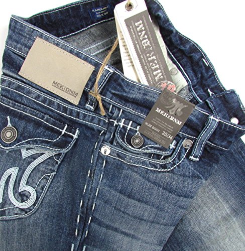 Vaqueros Azul Para Usa Mek Pantalones Boot Cut Dnm Mujer Oscuro WdEYFUUB8n