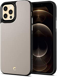 CYRILL Leather Brick Designed for iPhone 12 Case (2020), iPhone 12 Pro Case (2020) - Stone