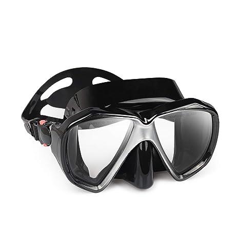 76d84be0eac Amazon.com   Snorkel Diving Mask Set