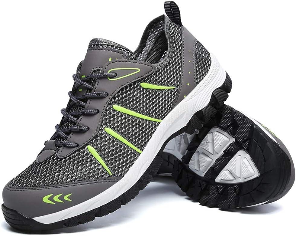 Zapatos de Deporte Hombre Deporte Aire Libre y Transpirables Casual Zapatillas de Trekking para Correr Sneakers Gris EU39,5=CN40: Amazon.es: Zapatos y complementos