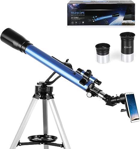 Telescope astronómico, telescopio reflector profesional (con ...