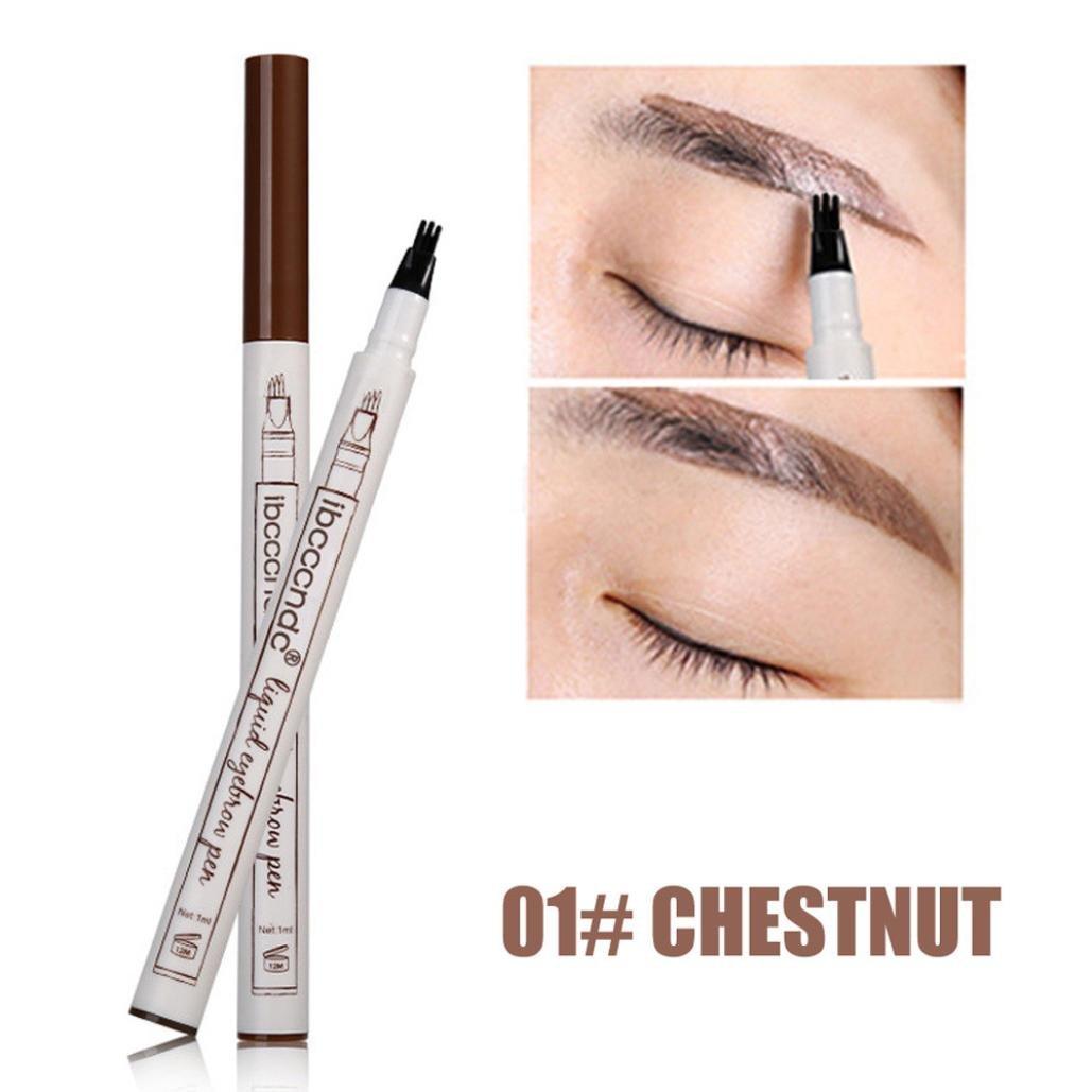 Best Liquid Eyebrow Pencil With Three Tips Long Lasting Waterproof