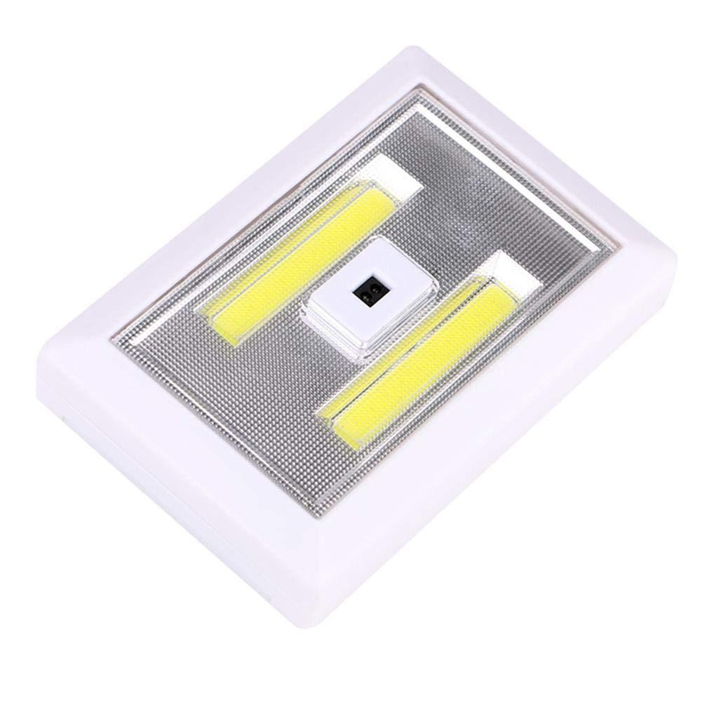 Lá mpara de pared con sensor de mano LED COB de 3 W, impermeable, para pasillo o escalera GLOBEAGLE