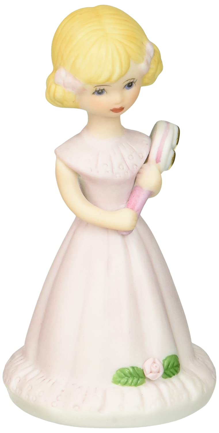 Growing up Girls from Enesco Blonde Age 5 Figurine 4 in