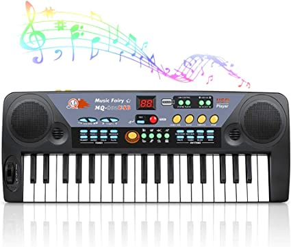 Electronic Organ with 8 tones, 8 rhythms & 7 functions