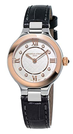 Frederique Constant Analogue Silver Dial Women's Watch - FC-200WHD1ER32