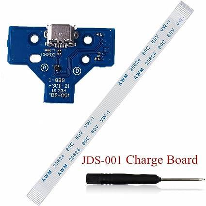 Puerto de carga USB cargador socket Junta Junta con Flex Cable de ...