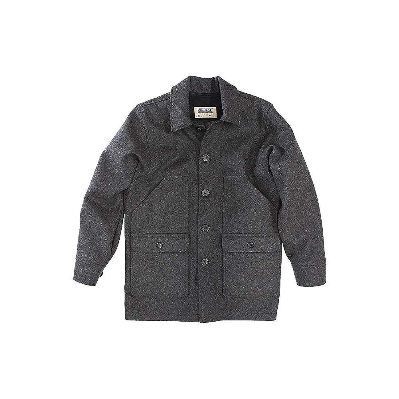 ストーミー クローマー アウター ジャケットブルゾン Stormy Kromer Men's Mackinaw Coat Charcoal [並行輸入品] B07B4VMLQW  XL