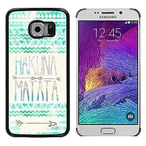 Dragon Case - FOR Samsung Galaxy S6 EDGE - Time to change - Caja protectora de pl??stico duro de la cubierta Dise?¡Ào Slim Fit