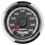 Auto Meter 8558 Factory Match 2-1/16'' Electric Transmission Temperature Gauge (100-260 Degree F, 52.4mm)