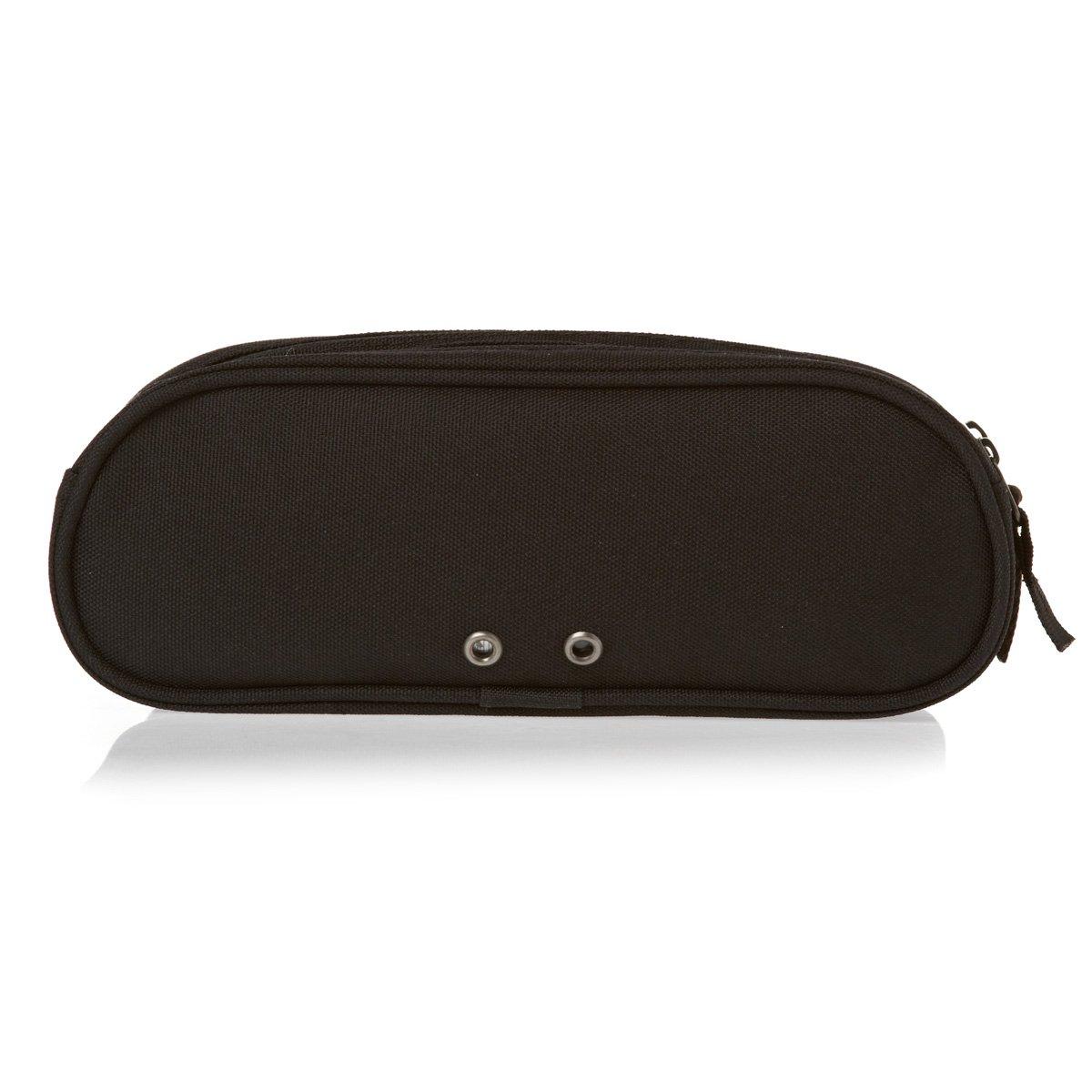 b83431fce9c7ab Converse Double Pencil Case (Jet Black)  Amazon.ca  Luggage   Bags