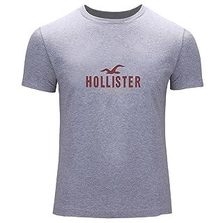 DIY Hollister impreso para hombres de la camiseta T Outlet