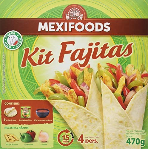 Mexifoods Kit - 10 Paquetes de 470 gr - Total: 4700 gr: Amazon.es: Alimentación y bebidas