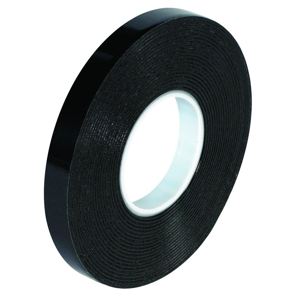 VHB VHB494934R Tape, 1/2'' x 5 yd, Black