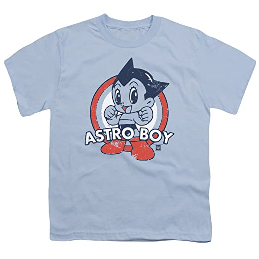 0b8db6bb087 Trevco Astro Boy Japanese Anime Cartoon Show Pose On Target Big Boys Youth T -Shirt