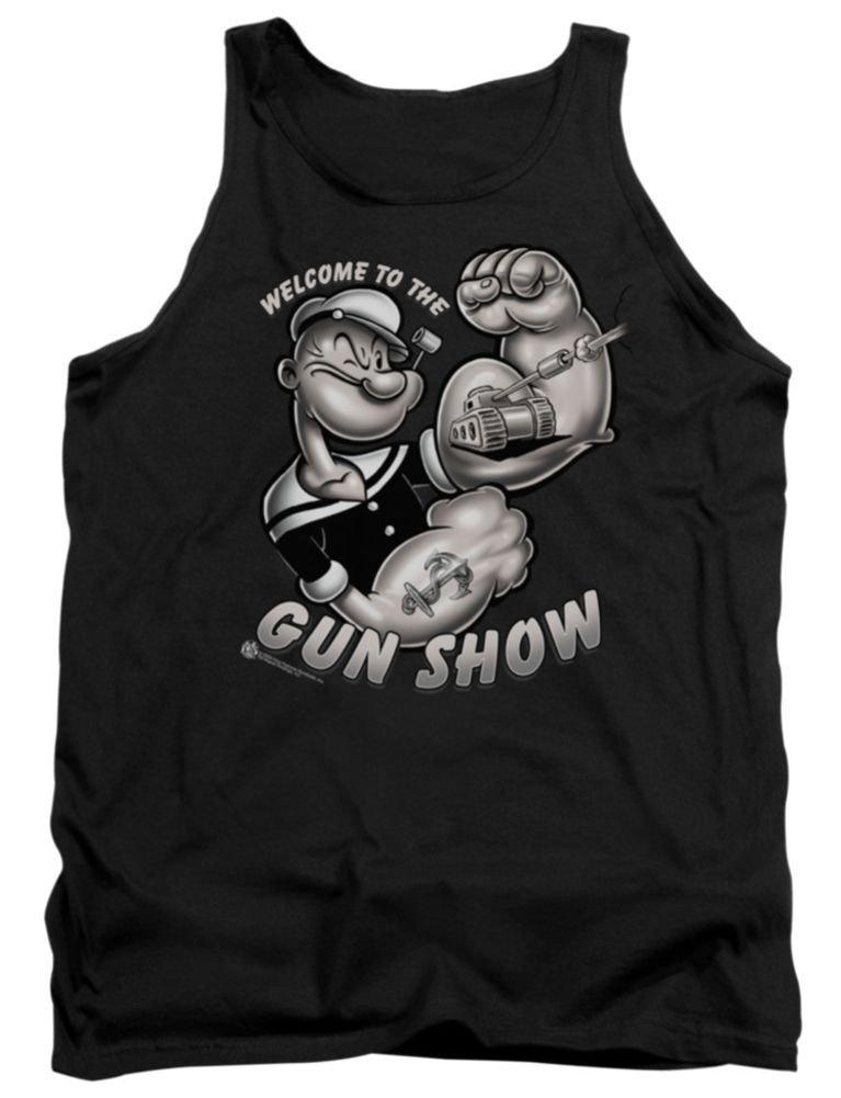 Popeye Gun Show Tank Top Shirts