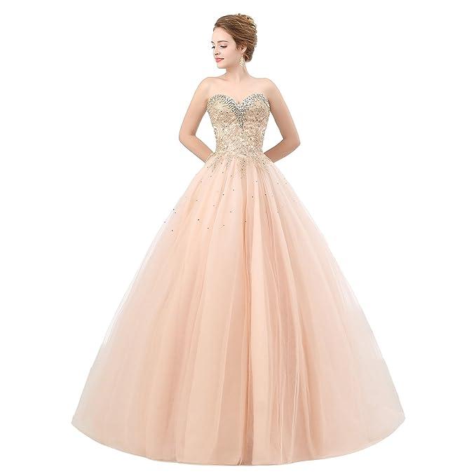 Elegante Champagne Vestito Abito Cerimonia Vipgowns Da Donna Lungo AL35jc4Rq
