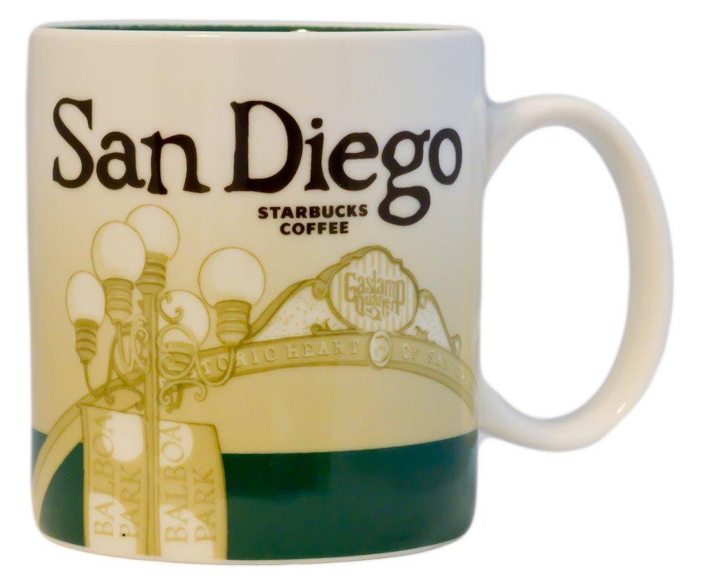 Amazon.com: Starbucks San Diego Cup Coffee Mug Collector Series ...