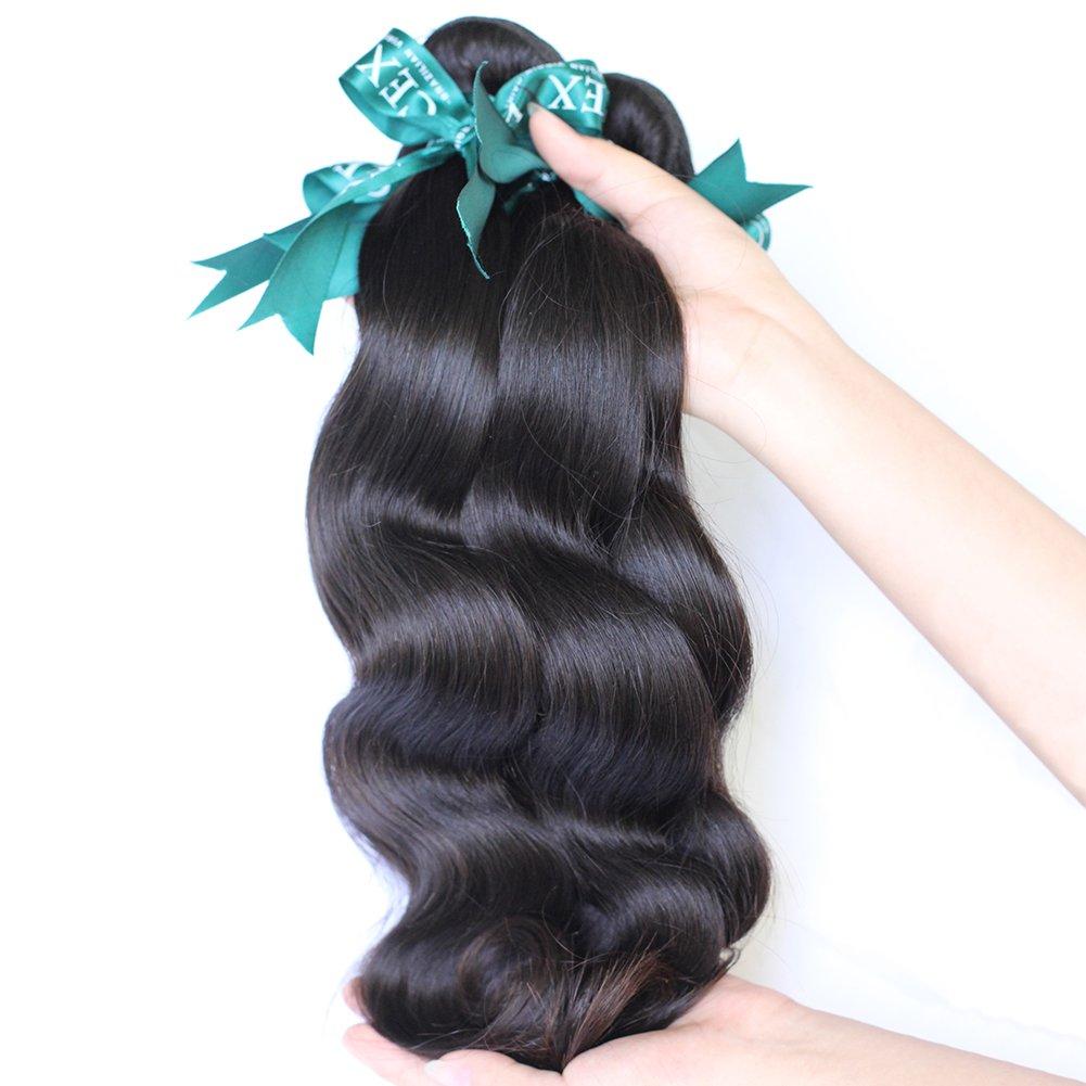 Amazon Cexxy 7a Body Wave Weave Brazilian Remy Hair 3 Bundles