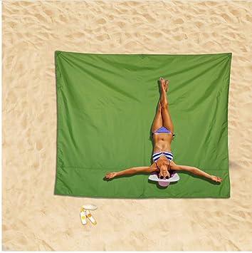 Vanzelu 220X180 cm Al Aire Libre Playa Jardín A Prueba de ...