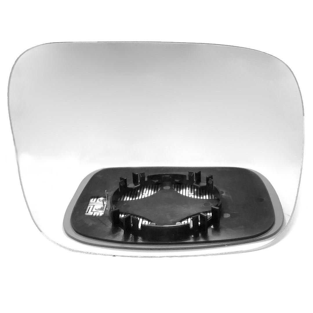 Driver right hand side Heated wing door Silver mirror glass with backing plate #C-SHY/R-VOXC9007