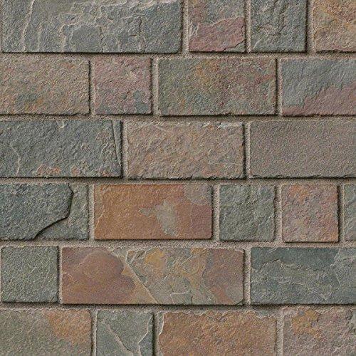 MS International SMOT CG California Gold Tumbled Brick Pattern in 12x12 Mesh 10 -