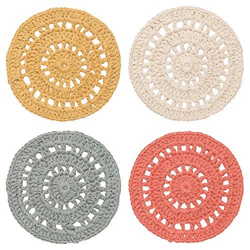 Danica Studio Crocheted Coasters, Set of Four, (Danica Mug)