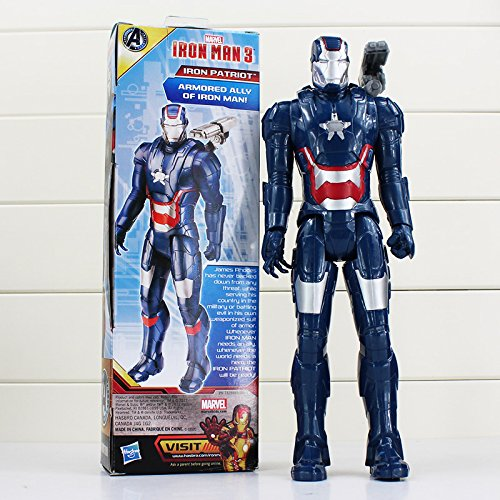 30 CM, The Avengers Super Heros Action Figure Model Doll (Blue Iron Man) (Star Trek Movie Blue Shirt Adult Costume)