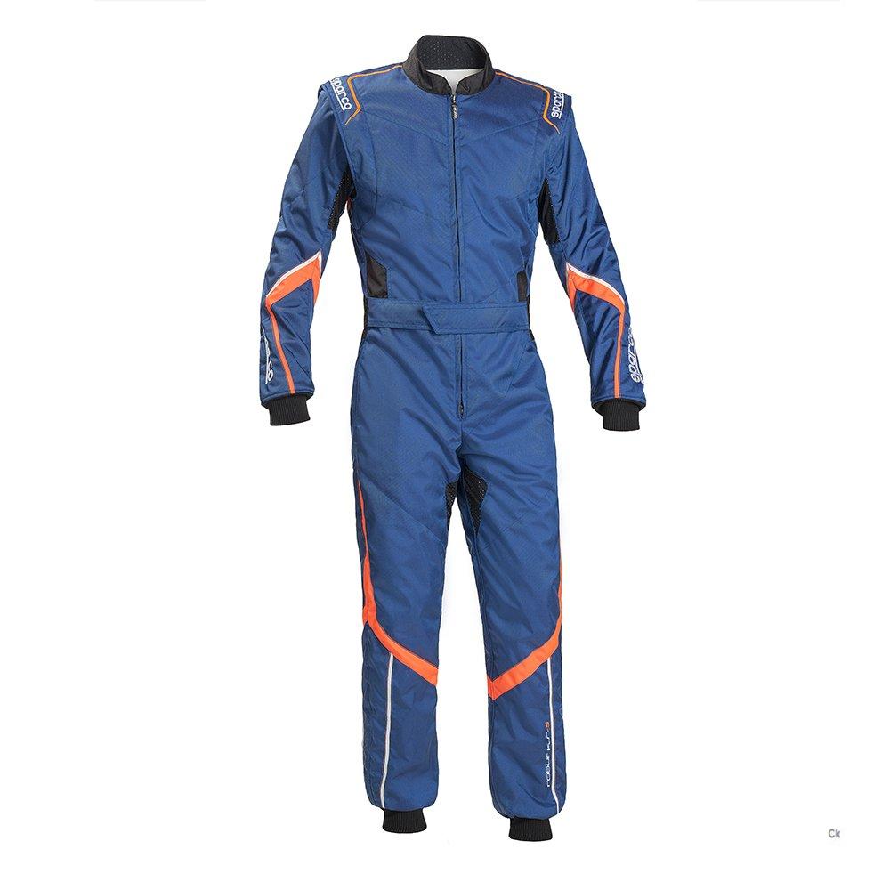 SPARCO (スパルコ) カートスーツ ROBUR KS-5 BLUE/ORANGE サイズXS 002335AAFB0XS B01NASMQF1
