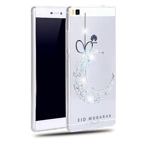 tkshop funda case para Huawei P8 Carcasa Funda TPU Silicona ...