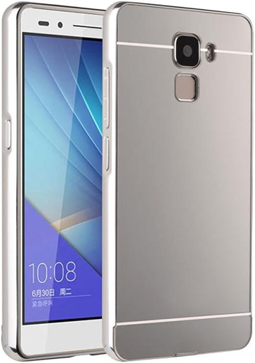 Sunnycase® Funda Aluminio Trasera protectora PC Bumper para Huawei ...