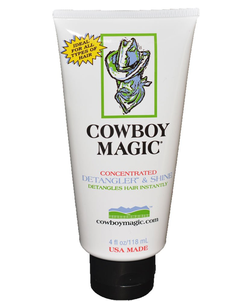Cowboy Magic 4 oz Tube Concentrated Mane Tail Detangler & Shine Concentrated Grooming