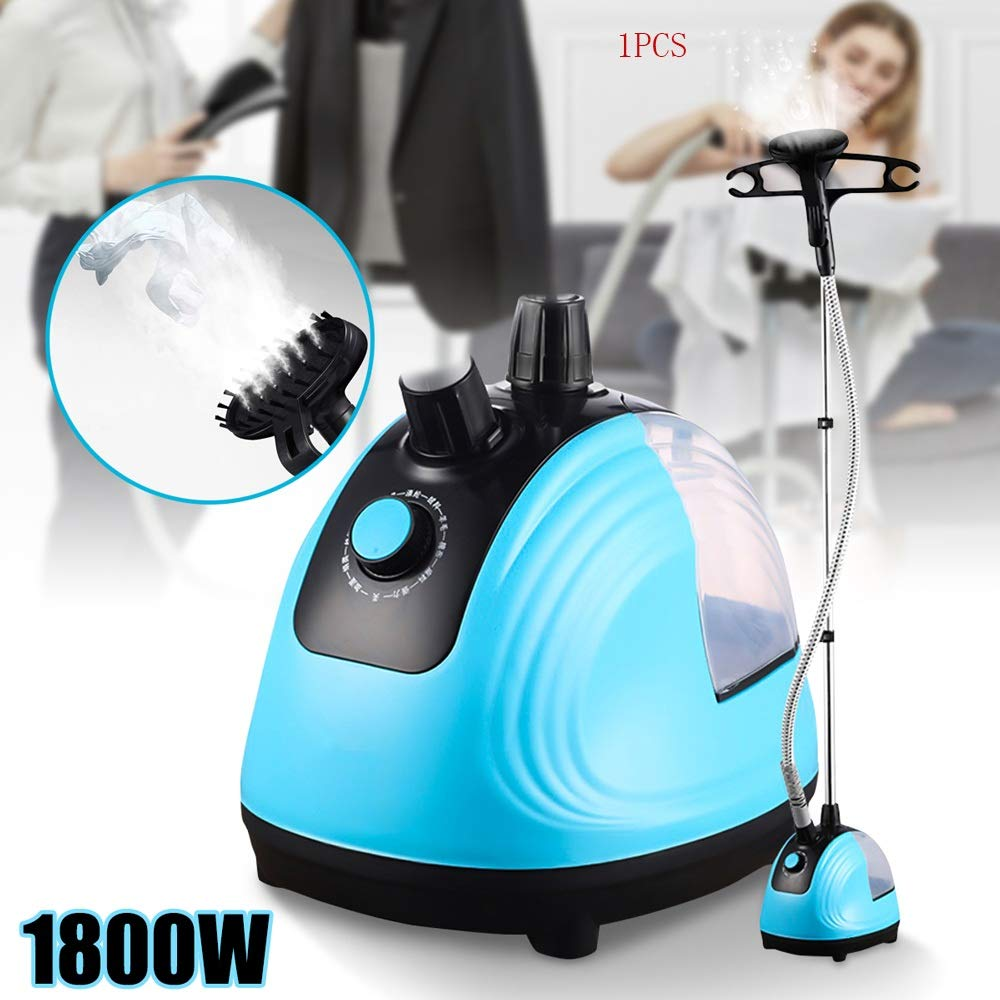 Modenny 1800W Hand Held Garment Steamer Adjustable Household Clothes Iron Steamer 220V Hanging Ironing Machine Mini Ironer Steamer