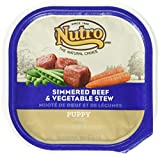 Best EVO Canned Beefs - Nutro 50411782 Simmered Beef & Vegetable Stew Puppy Review
