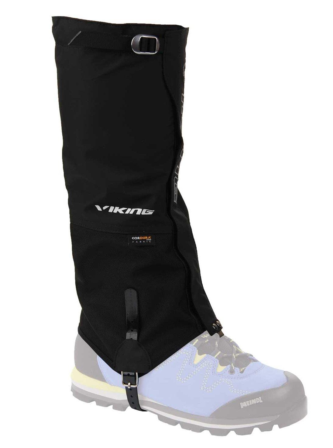VIKING Gamaschen Damen und Herren wasserdicht Schneeschutz Regenschutz hoch - ideal für Outdoor und Trekking, sehr robust - 0374