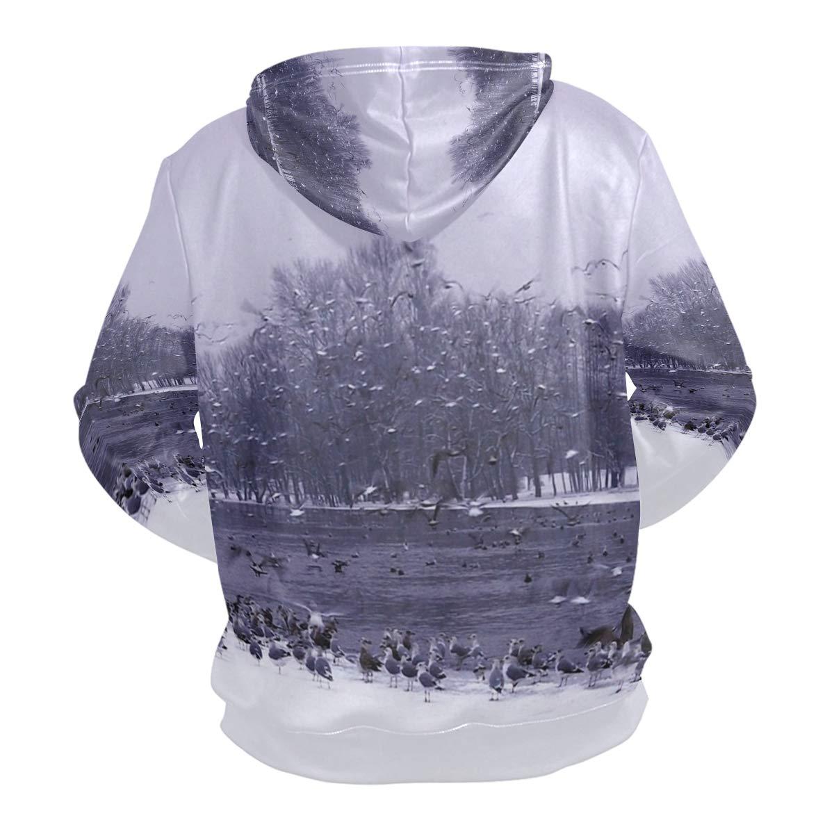 Pingshoes 3D Hoodie Wallpaper Cave Pullover Hooded Sweatshirts Long Sleeve Shirt