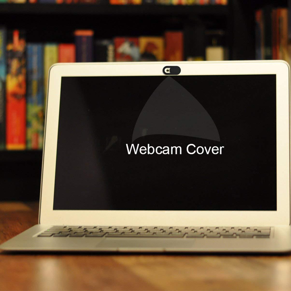 T1 Negro Cubierta de la webcam Cubierta ultra delgada de la c/ámara web Protecci/ón de la privacidad Etiqueta del obturador para tel/éfono inteligente Tablet PC de escritorio