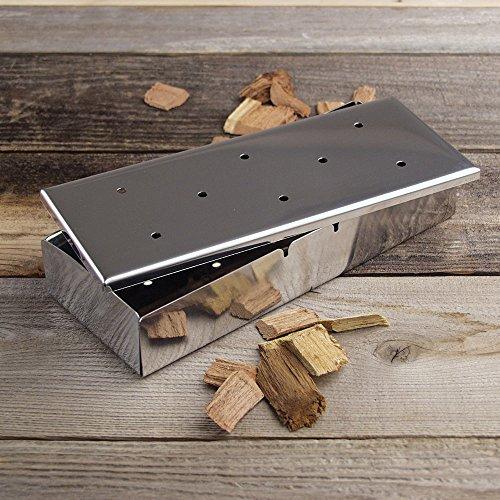 Barbecue-Wood-Chip-BBQ-Smoker-Box