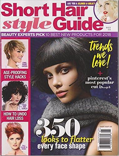 Short Hair Style Guide Magazine Winter 2018 Amazon Com Books