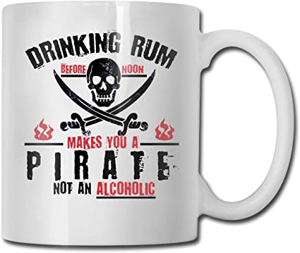 Beber ron te convierte en un Pirati, no en una taza de café ...