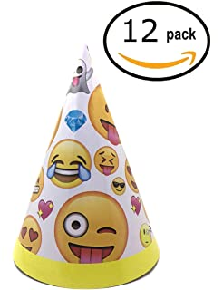 Imflyker Birthday Party Hats Fun Cone Set For Kids And Adults Pack Of