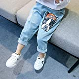 PAUBOLI Ripped Jeans Baby Infant Toddler Fashion