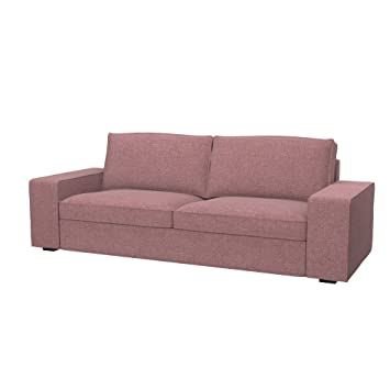 Bezug Bettsofa amazon de soferia ikea kivik 3er bettsofa bezug naturel coral