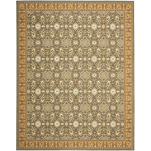 (Safavieh Treasures Collection TRE215-6522 Blue and Caramel Area Rug (5'1