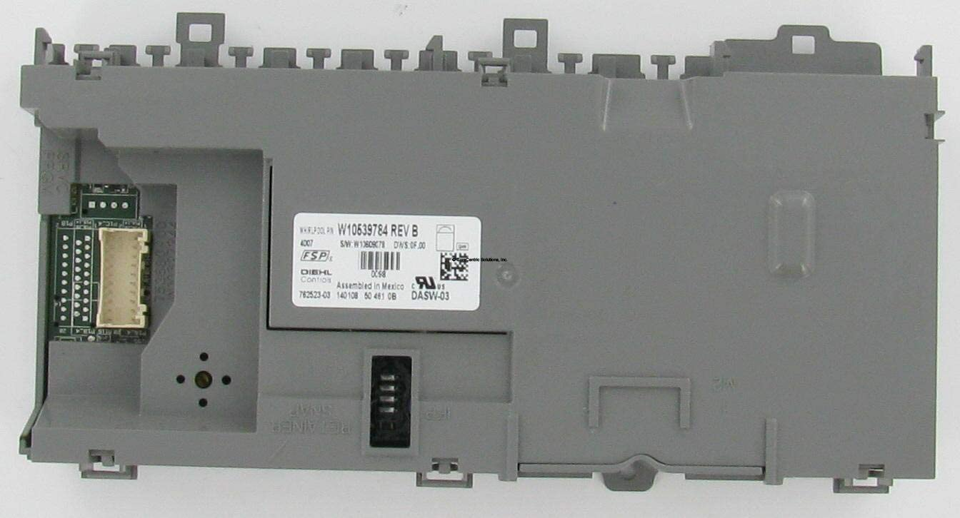 CoreCentric Dishwasher Electronic Control Board replacement for Whirlpool W10595569 / WPW10595569 (Renewed)