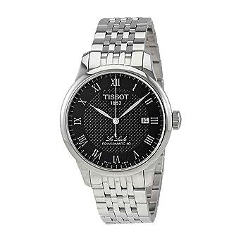 c0fa36741 Amazon.com: Tissot Men's Le Locle Powermatic 80 - T0064071105300 Black/Grey  One Size: Tissot: Watches
